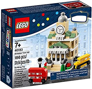 Lego, Exclusive 2014 Bricktober Set, Town Hall #4/4 (40183)