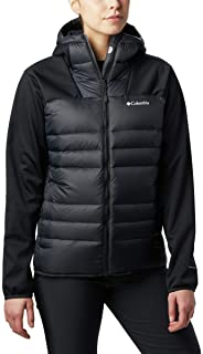 Columbia Women's Centennial Creek Down Hybrid Winter Jacket, Water repellent