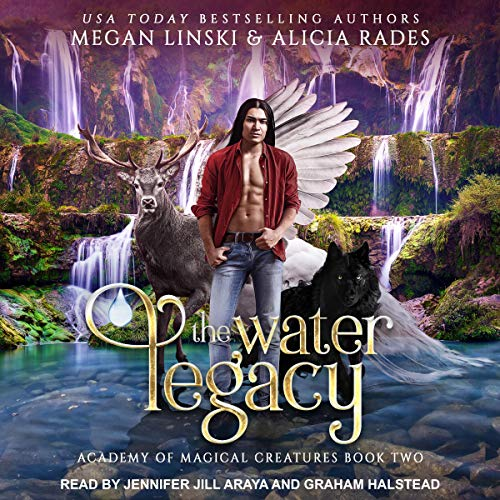 The Water Legacy audiobook cover art