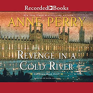 Revenge in a Cold River audiobook cover art