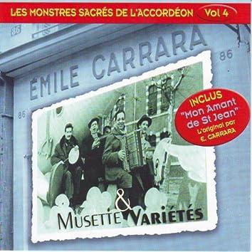 Musette et variété : les monstres sacrés de l'accordéon, vol.4