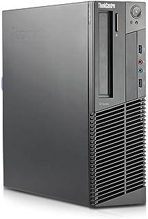 Lenovo ThinkCentre M92p SFF Intel Quad Core i5 256GB SSD Festplatte 8GB Speicher Win 10 Pro MAR DVD Brenner Desktop Computer Mini PC (Generalüberholt)