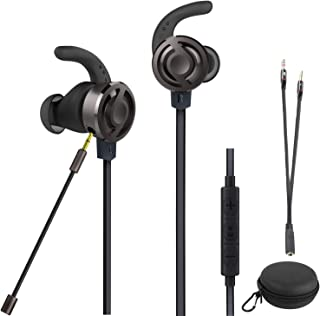 Wired Gaming Earphone PS4 PC On-Live Game Chat Bass Stereo Haeadset 3.5mm Audio Jack LED Light Over-Ear Noise Cancelling H...