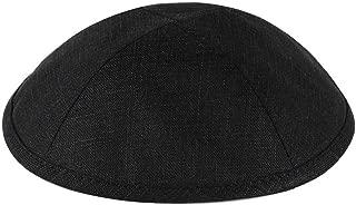 Zion Judaica Deluxe Linen Kippot Single Bulk Optional Custom Imprinting for Any Even