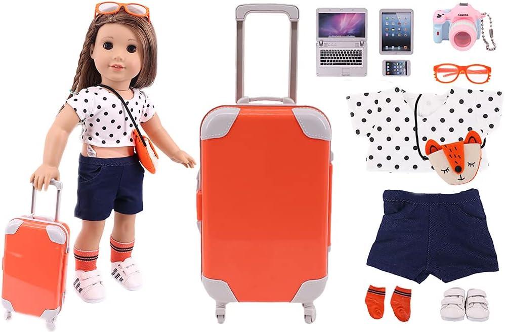 Lnrueg Doll Travel Case Set Funny Pla Realistic Small Decorative Safety 2021 model and trust