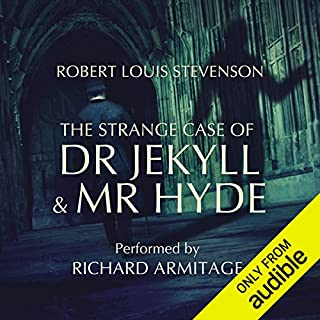 The Strange Case of Dr Jekyll and Mr Hyde audiobook cover art