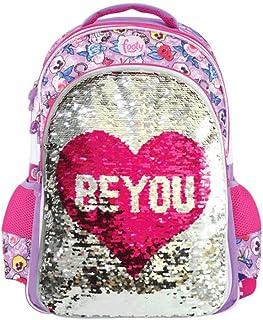 | Mochilas para Niñas para Preescolares y Colegio De Primaria - Estilo Be You Juveniles con Lentejuelas y de Tela - Ve a la Moda - Tendencia 2020