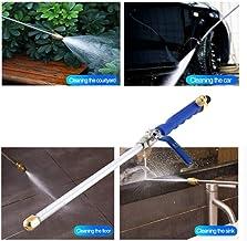Mozusa High Pressure Macht Water Gun Water Washer Jet Garden Washer Slang Wand Nozzle Spuitbus Watering Spray Sprinkler sc...