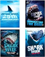 Ultimate Shark Week Discovery Channel 4-Pack DVD Collection: 25th Anniversary / Dominating the Deep / Fins of Fury / Jaws of Steel Collection