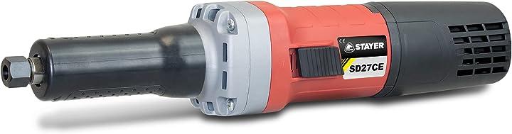 Smerigliatrice stayer sd27ce a velocità costante con regolatore elettronico della velocità 750 w 1.1705