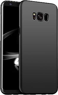Galaxy s8 ケース おしゃれ ギャラクシーs8 カバー 耐衝撃 薄 高級なPC 品質保証 ブランド ハードケース 携帯カバー (Galaxy S8, ブラック)