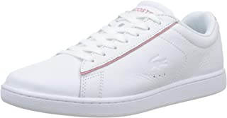 Lacoste Carnaby EVO 319 9 Womens White/Pink Trainers-UK 8 / EU 42