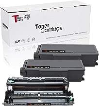 Tonersave Compatible TN460 Toner DR400 Drum for Brother HL-1440 DCP-1200 DCP-1400 Intellifax-4750 Fax-4100e HL-1030 HL-1230 HL-1240 HL-1250 HL-1270N HL-1435 HL-1450 HL-1470N MFC-1260 TN-460 3 Pack