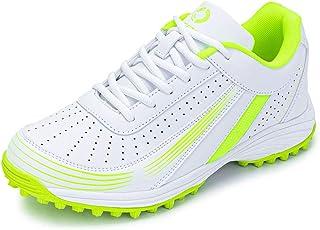 حذاء الجولف المريح ذو مسمار مطاطي من LEOCI حذاء للهوكي بوسادة فيلون
