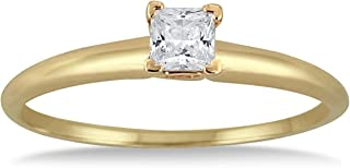 1/7 carat diamond ring