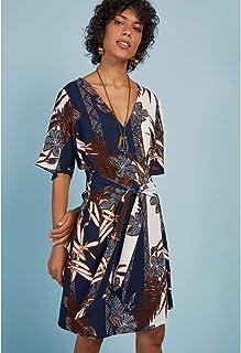 Vestido Estampa Batik