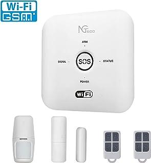 Wireless Wifi Alarm Kit, NGTeco Smart Door Alarms for...