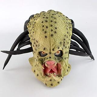 ハロウィーンホラーマスク、ギザギザの戦士マスク、創造的な Vizard マスク、パーティー仮装マスク