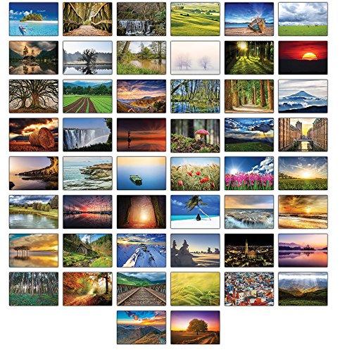 Landschaften Postkarten - 50 verschiedene Postkarten