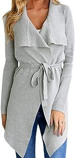 Women Coats, 2019 Women Ladies Long Sleeve Cardigan Coat Suit Top Open Front Jacket Outwear