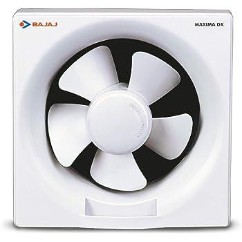 Bajaj Maxima DX 200 mm Exhaust Fan (White)