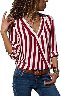 Amazon.es: Sfera Moda - Camisetas, tops y blusas / Mujer: Ropa