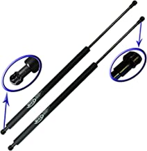 Two Rear Glass Gas Charged Lift Supports For Back Window for 2000-2006 BMW X5. Left and Right Side. WGS-408-2