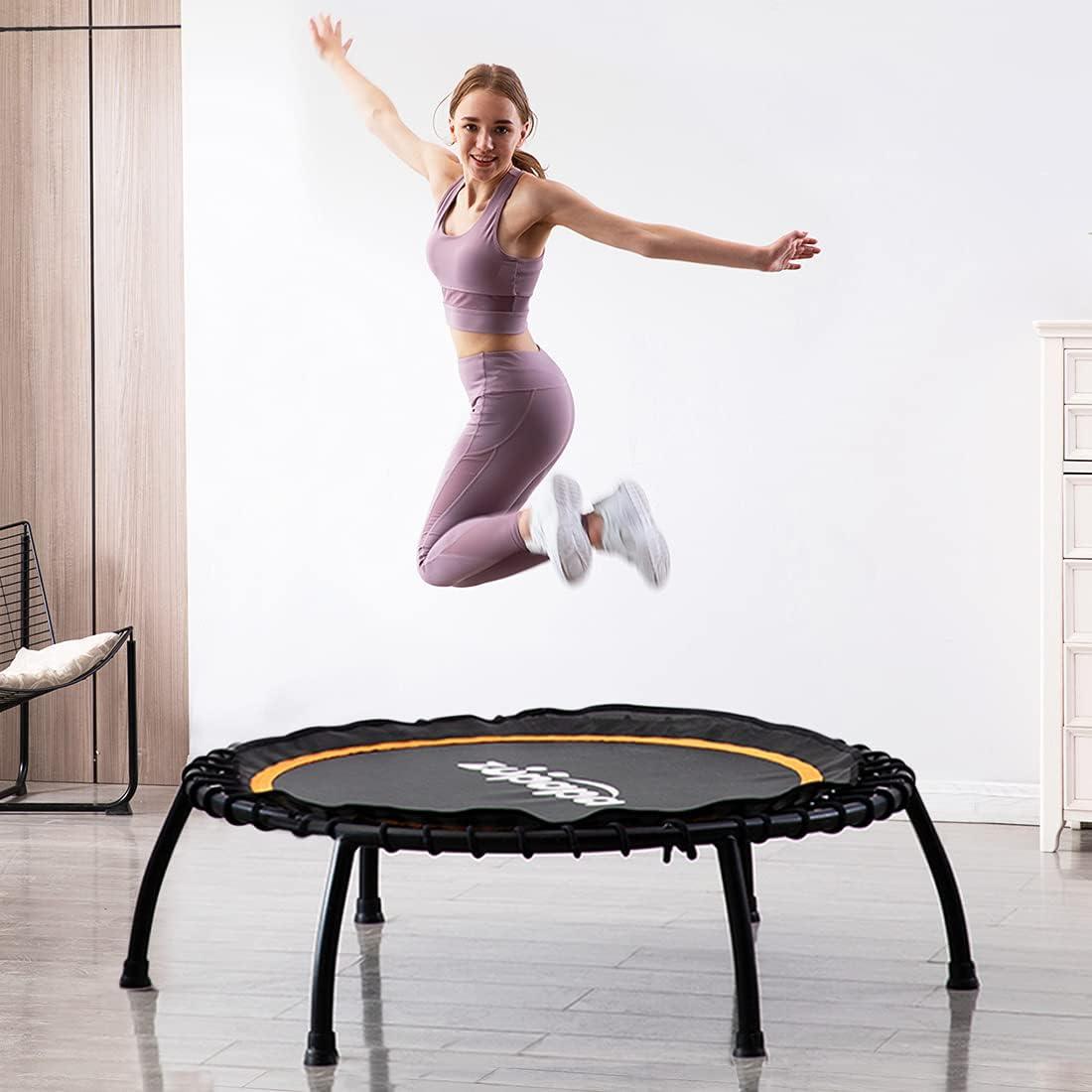 Zupapa Silent Mini Fitness Rebounder 2021 Trampoline– Super intense SALE for Indoor