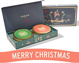 VAHDAM, Christmas Tea Set, Christmas Chai + Holiday Breakfast Chai - Tea Gift Set | LIMITED EDITION | Holiday Tea & Winter Tea Blends | 100% Natural Ingredients | The Best Christmas Gift for Everyone