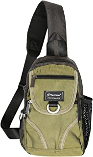 Vanlison Crossbody Sling Bag Backpack Chest Shoulder Bag Unisex