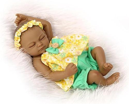 precios al por mayor ZBYY Reborn Baby Doll Renacer Bebé Simulación Silicona Silicona Silicona Renacer Bebé Gemelos Juguete 10 Pulgadas,A  Sin impuestos