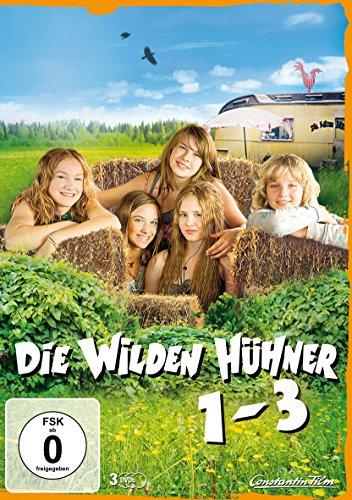 Die Wilden Hühner 1-3 (Amaray) [3 DVDs]