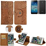 K-S-Trade 360° Cover cork Case for Jiayu S3 Advanced |