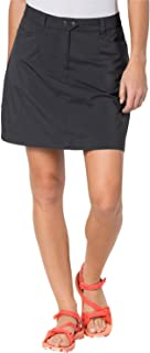 Jack Wolfskin Sonora Skort Women's UV Protection Outdoor Travel Leisure Trousers Skirt Skirt–Brown, UK Size 10
