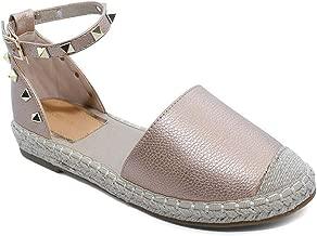 VICTORIA ADAMES Gaby Espadrilles Shoes Rose Gold