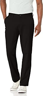 """Nautica mens Classic Fit Flat Front Stretch Solid Chino""""Deck"""" Pant Business Casual Pants"""