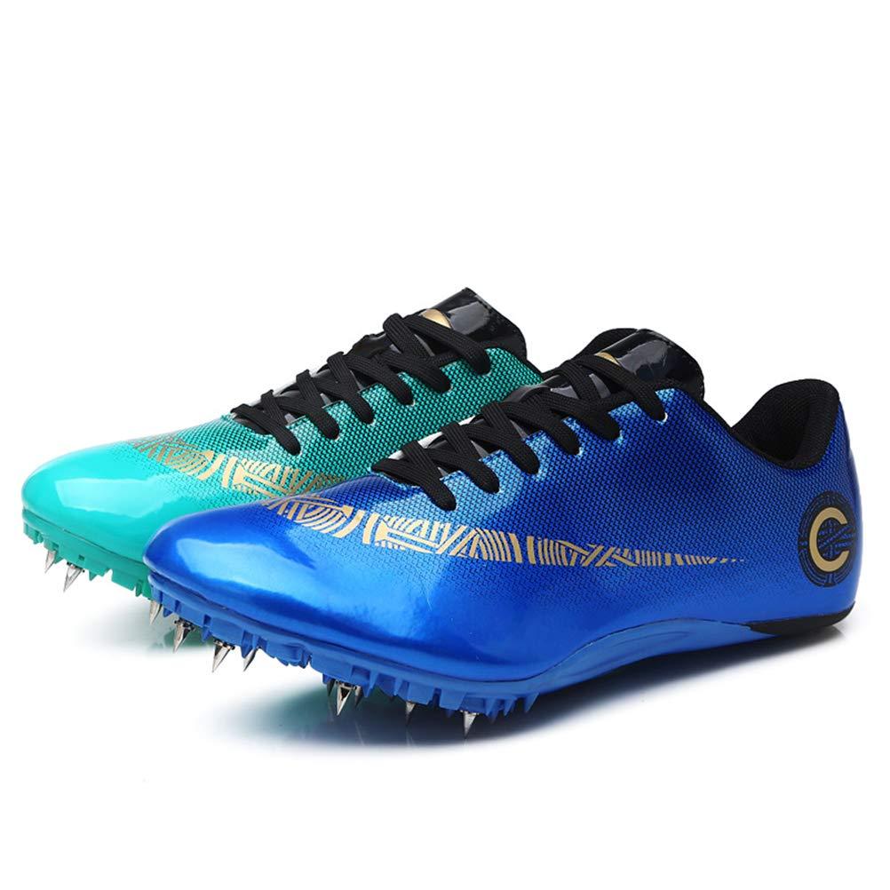 HYGLPXD Zapato De Sprint Profesional para Atletismo para Jóvenes, 8 Clavos para Atletismo En Pista Y Campo Zapatos para Correr Entrenamiento De Salto Largo Zapatilla De Atletismo,005,38EU: Amazon.es: Deportes y aire libre