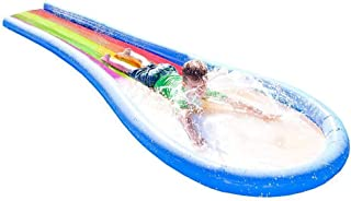 HearthSong Inflatable Rainbow Water Slide - Approx 12 Foot L