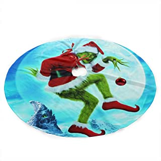 Return To Dust Animated The Grinch Christmas 36 Inch Christmas Tree Skirt Christmas Tree Decorations Christmas Decoration Gifts