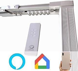 comprar comparacion ABALON Riel Motorizado para Cortinas, de 1 a 4 m, Motor WiFi Compatible con Alexa Google Home y App, Smart Home, con Mando...