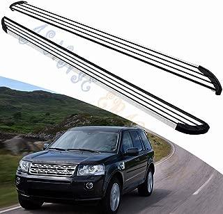 Jennie Erickson Fit For Land Rover Freelander 2 2006 2007 2008 2009 2010 2011 2012 2013 2014 2015 2016 Running Boards Side Step Nerf Bar Aluminium
