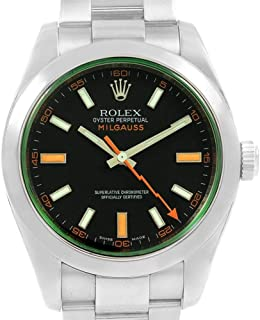 Rolex Milgauss Automatic-self-Wind Male Watch 116400 (Certified Pre-Owned)