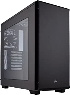 Corsair Carbide 270R - Caja de PC, Mid-Tower ATX, Ventana Lateral, Negro