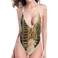 kjhep lk Sports one-Piece Swimsuit Bikini Swimsuit with Shorts