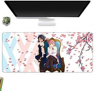 Darling In The FranXX 鼠标垫 40x90厘米 游戏 运动垫 定制 桌垫 橡胶 动画周边 键盘垫 橡胶防滑垫 人气 男女通用 礼物 PC 办公室 设计 工作-A_800x300MM