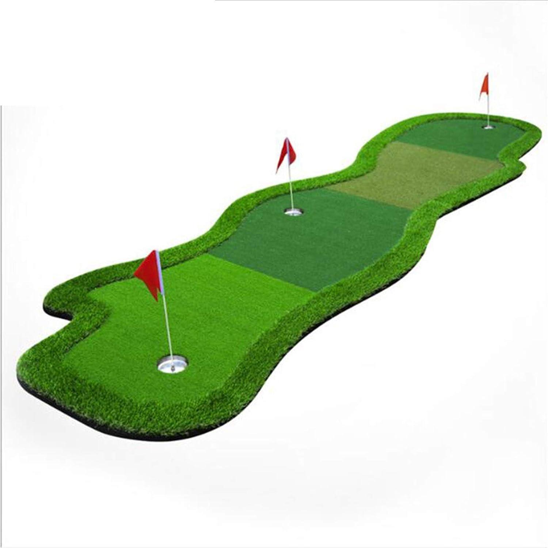 ZJXH Golf Practice Mat Indoor Green online shopping Putting 2021new shipping free Outdoor Pr