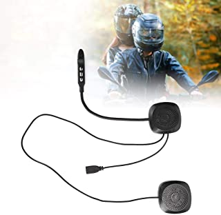 1 pcs con micrófono Suave Radio FM MP3 Casco Motocicleta