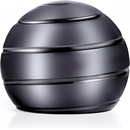 BIGPANDA Spinning Top Whole Body Original Gift Continuously Flowing Helix Spinning Silent Hypnotic Fingertip Top Adult Explore Kinetic Balls for Desks Desktop Gyro Toy Kinetic Spinning Desk