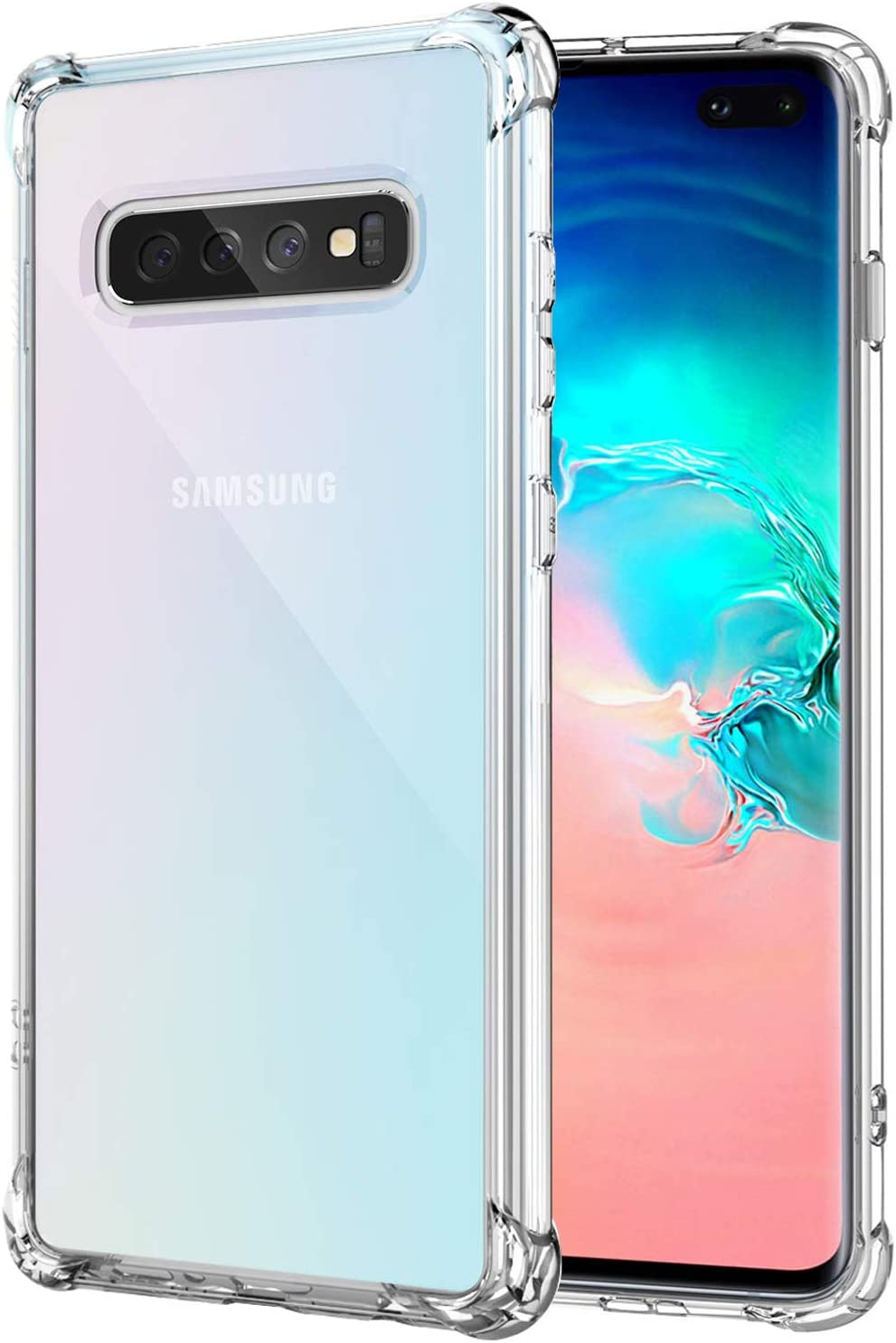 Galaxy S10 Plus Case Ultra Credence Crystal Clear Prote discount Shockproof Bumper