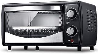 L.TSA Mini Horno eléctrico Compacto de Cocina, Mini Horno y Parrilla con Placas Calientes Dobles, Mini Horno con Parrilla eléctrica, Mini Horno de cocción doméstico, Tiempo de rotación de 30 minut